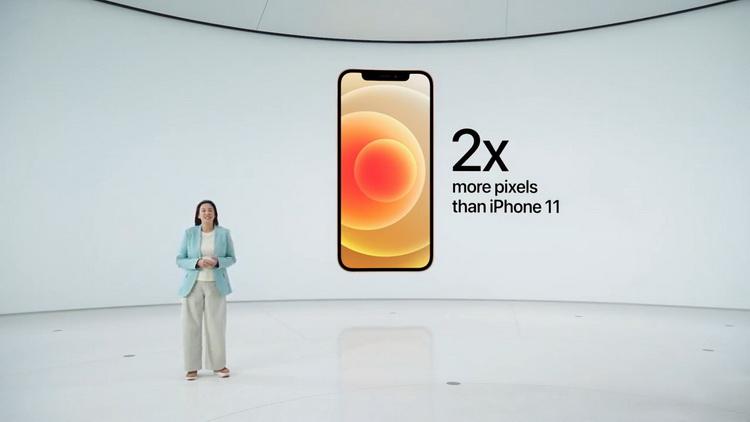 iPhone 12-экран особенности фото с мероприятия 3