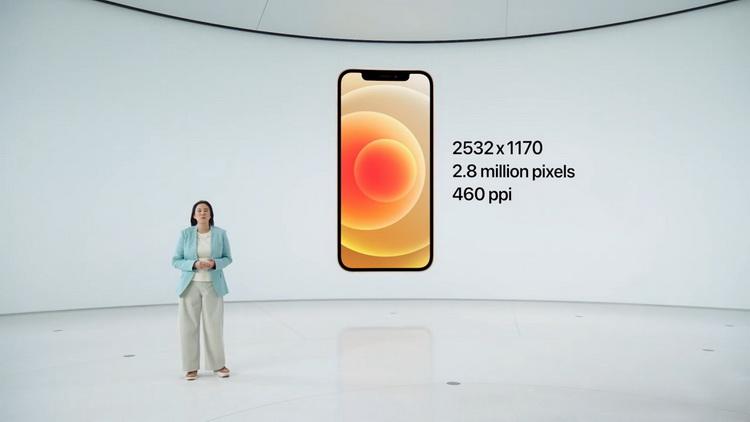 iPhone 12-экран особенности фото с мероприятия 4