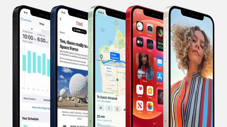 iPhone 12-экран особенности фото с мероприятия 5