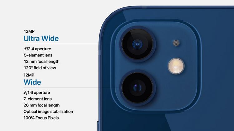 iPhone 12-основная камера