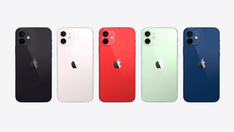 iPhone 12-расцветки и дизайн