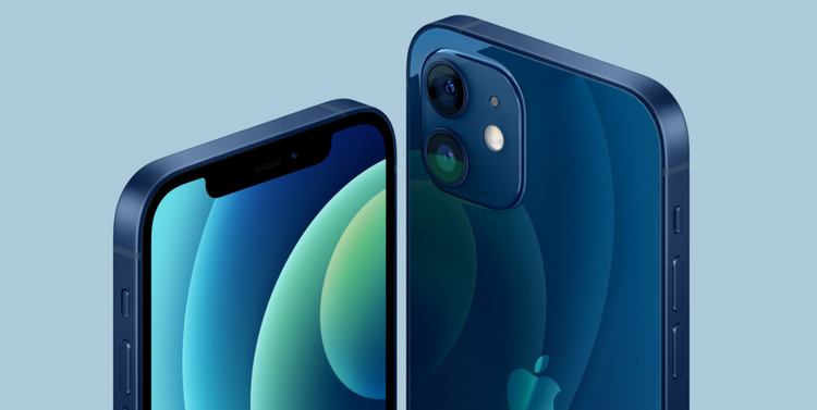 iPhone 12-синяя расцветка