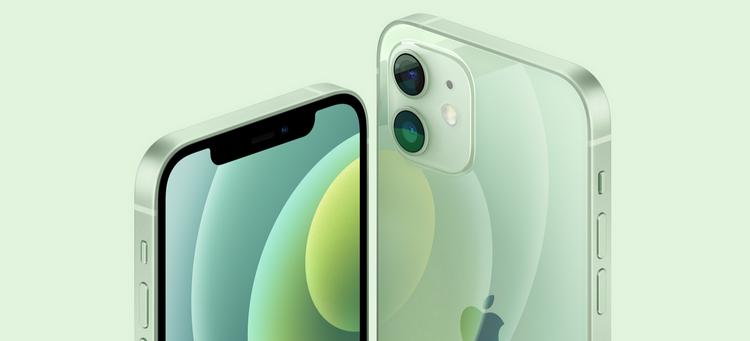 iPhone 12-зеленая расцветка