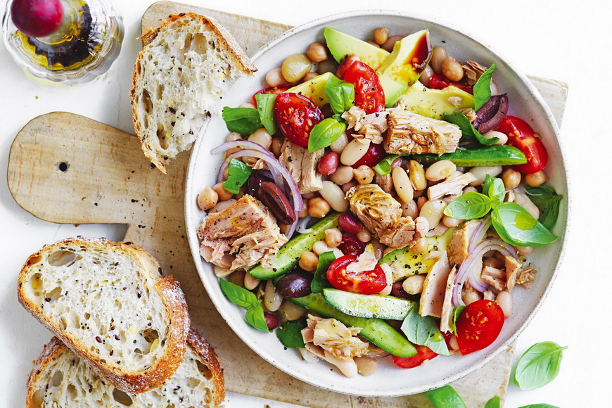 tuna bean-salad