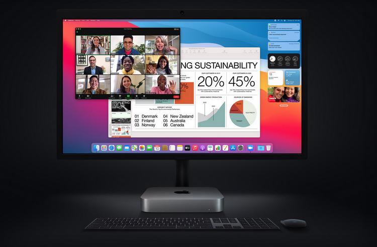 Apple-домашний офис.