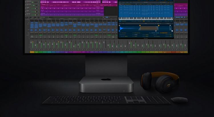 Mac mini-с M1 и Logic Pro