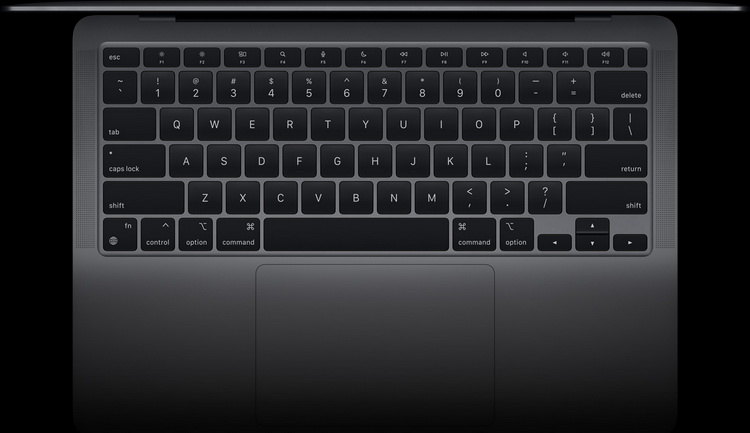 Новый MacBook Air-Magic Keyboard