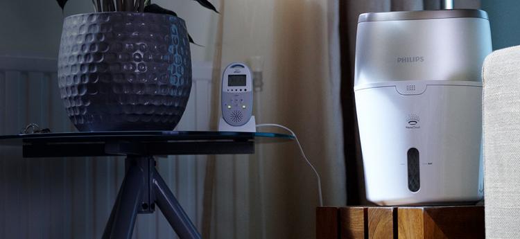 Philips Safe clean NanoCloud HU4803-увлажнитель воздуха паровой