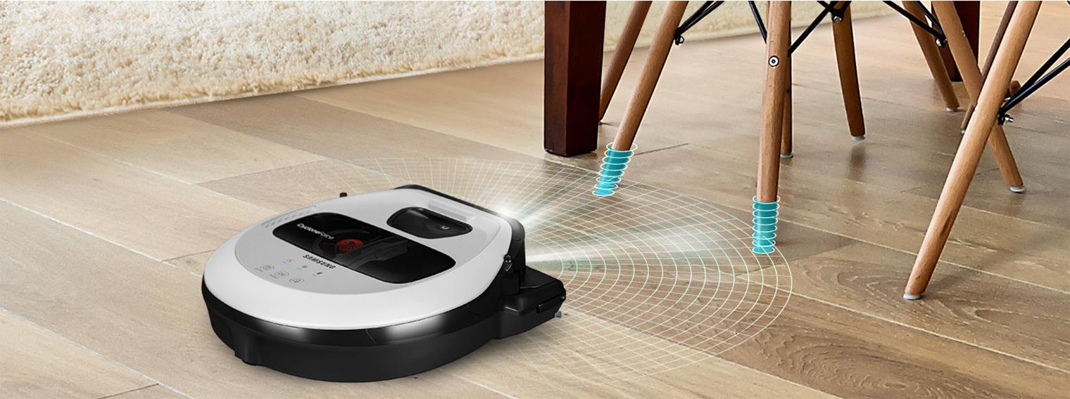 Робот Samsung ориентируется в пространстве