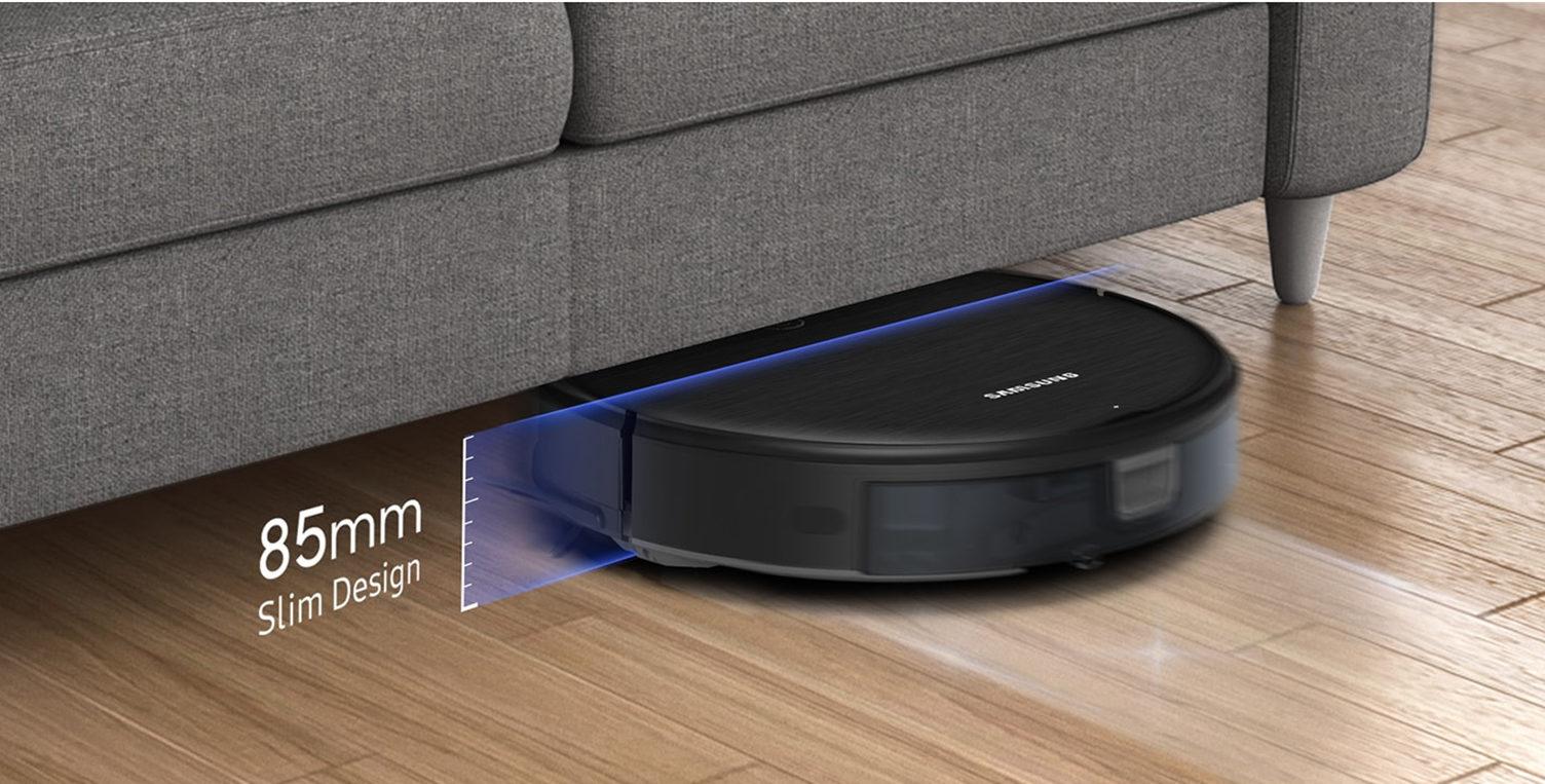 Робот Samsung под диваном