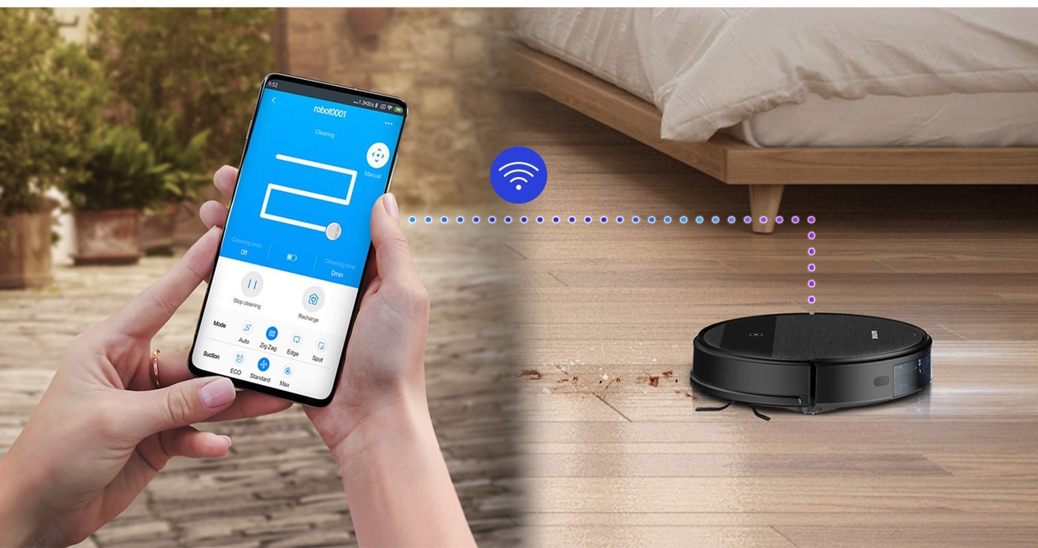Робот Samsung с влажной уборкой