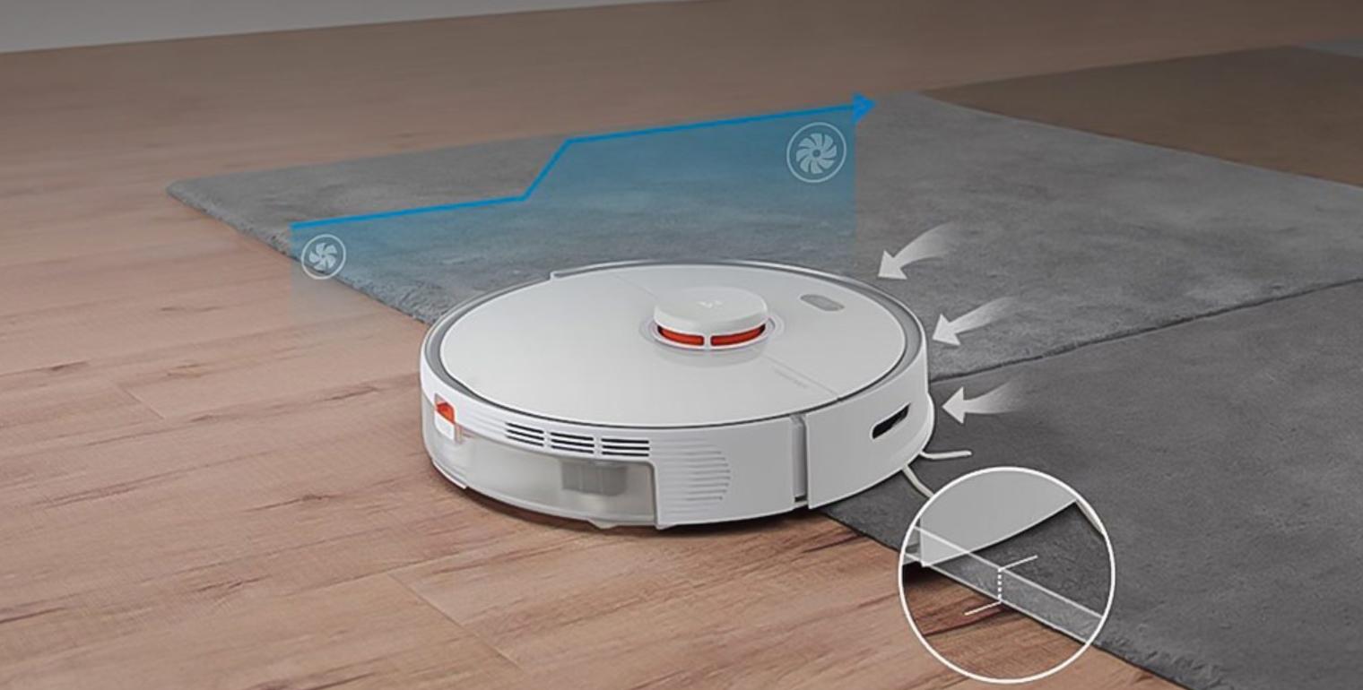 Робот Xiaomi на ковре