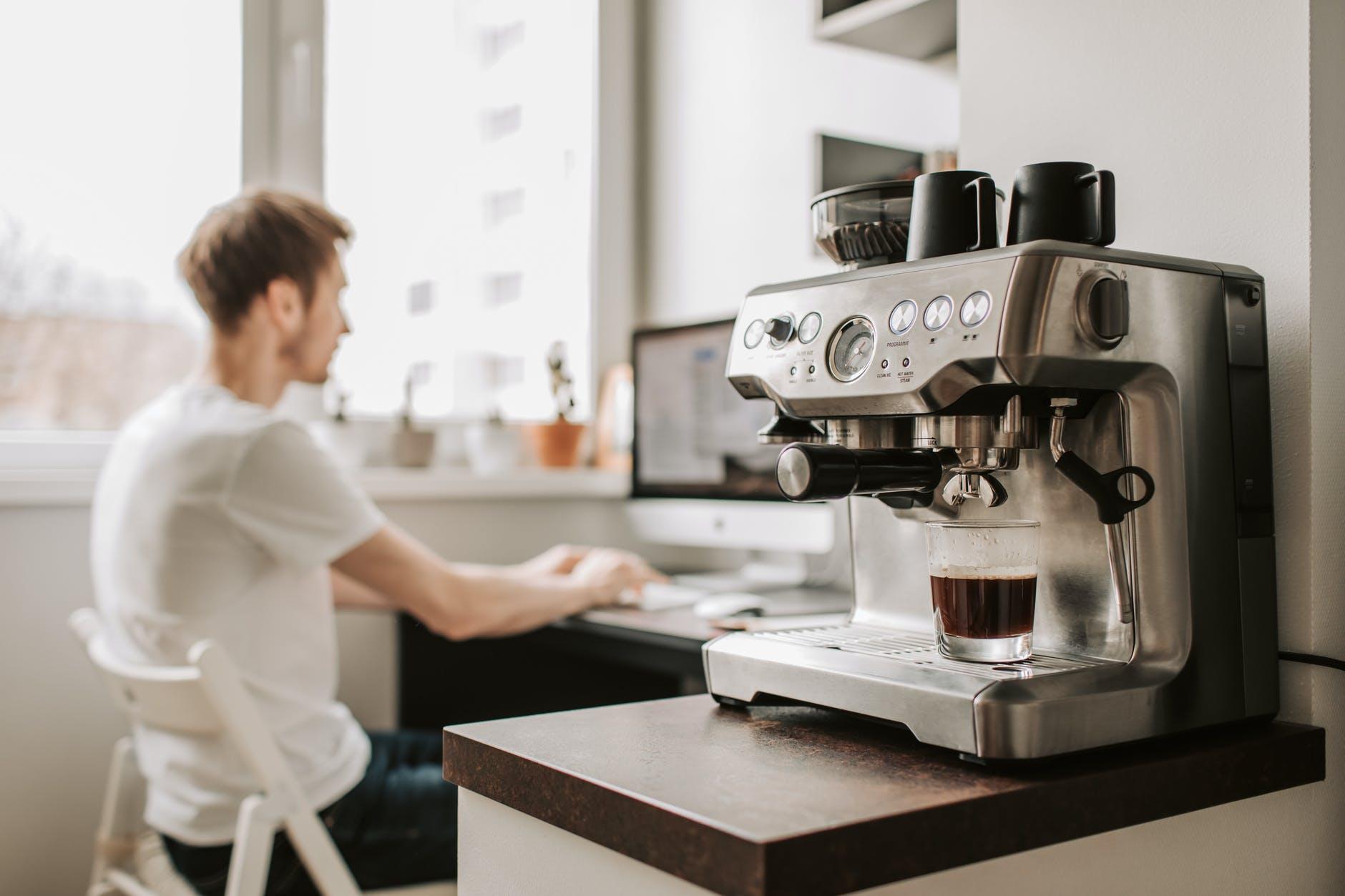 Кофеварка дома