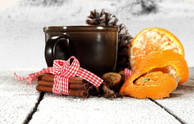Мандариновый чай-рецепт