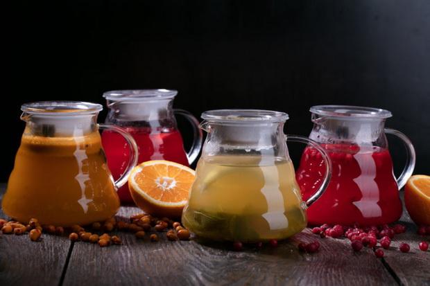Ягодные чаи-рецепты