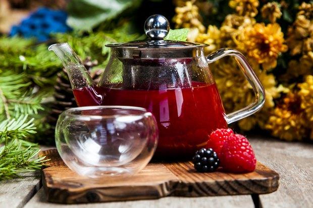 Ягодный чай-фото