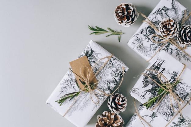 как упаковать подарки-Новый год