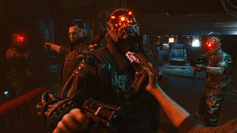 Cyberpunk 2077 персонажи