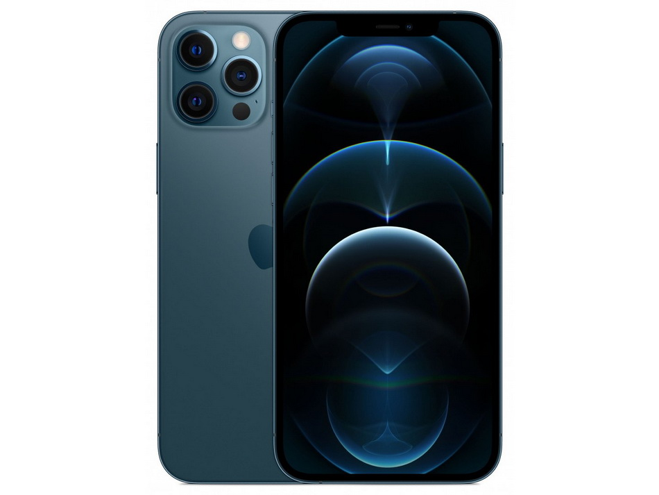 Apple iPhone 12 Pro Max Pacific Blue-флагман.