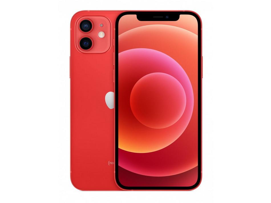 iPhone 12-дизайн красная расцветка