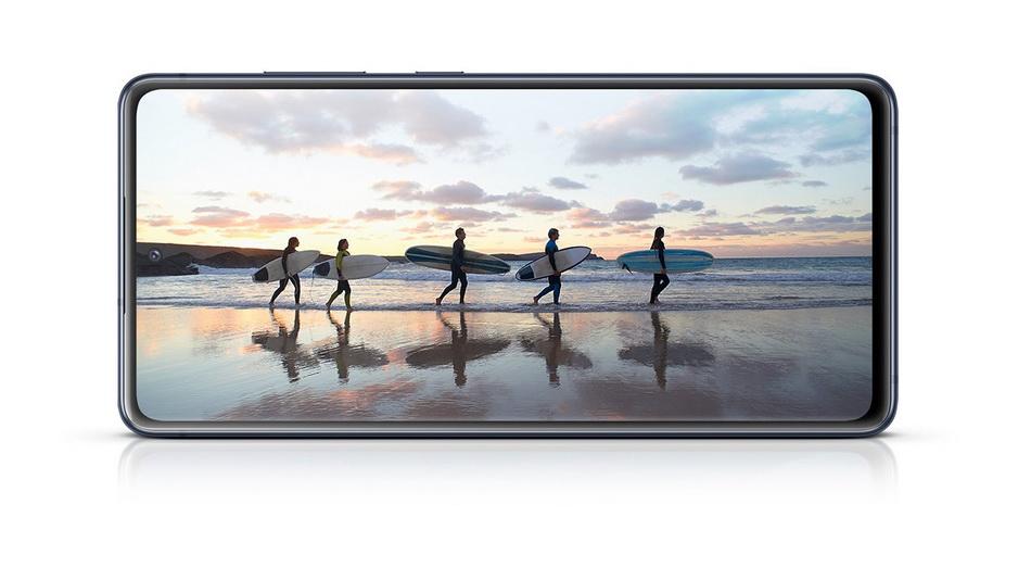 Samsung Galaxy S20 FE-экран смартфона