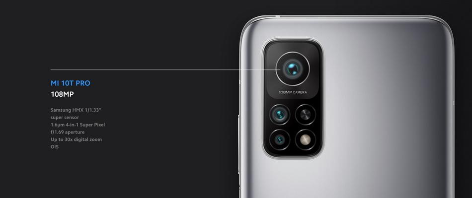Xiaomi Mi 10T Pro-камера