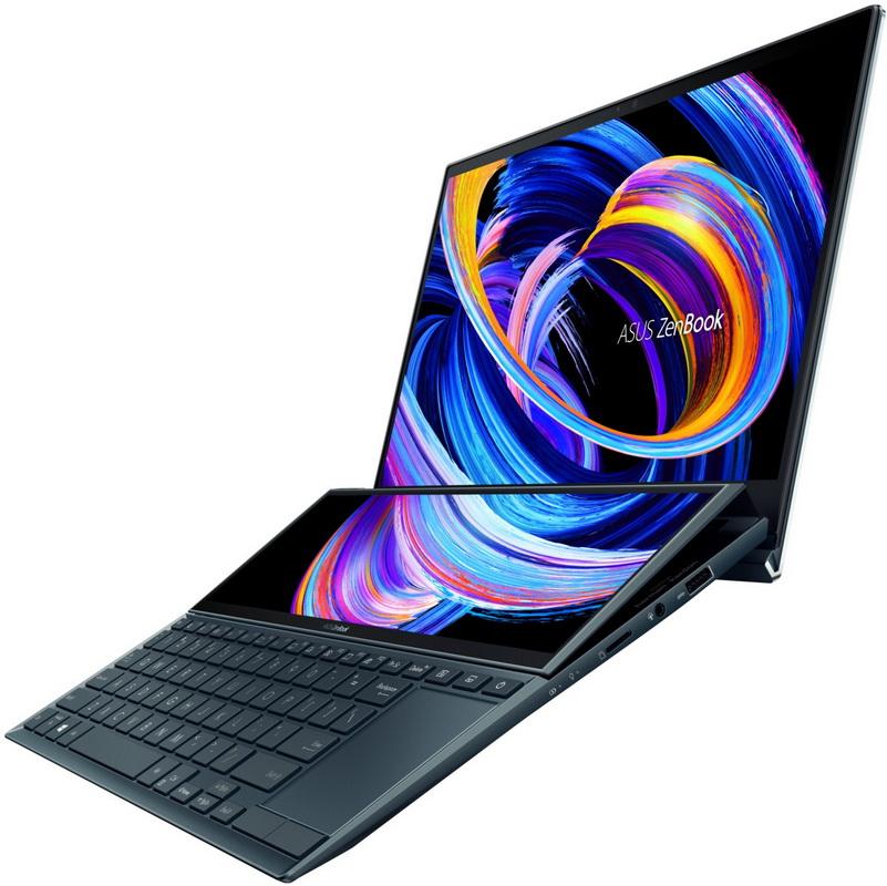 Duo-ноутбук с двумя экранами фото 2