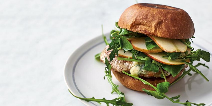 Burger-by Jamie Oliver