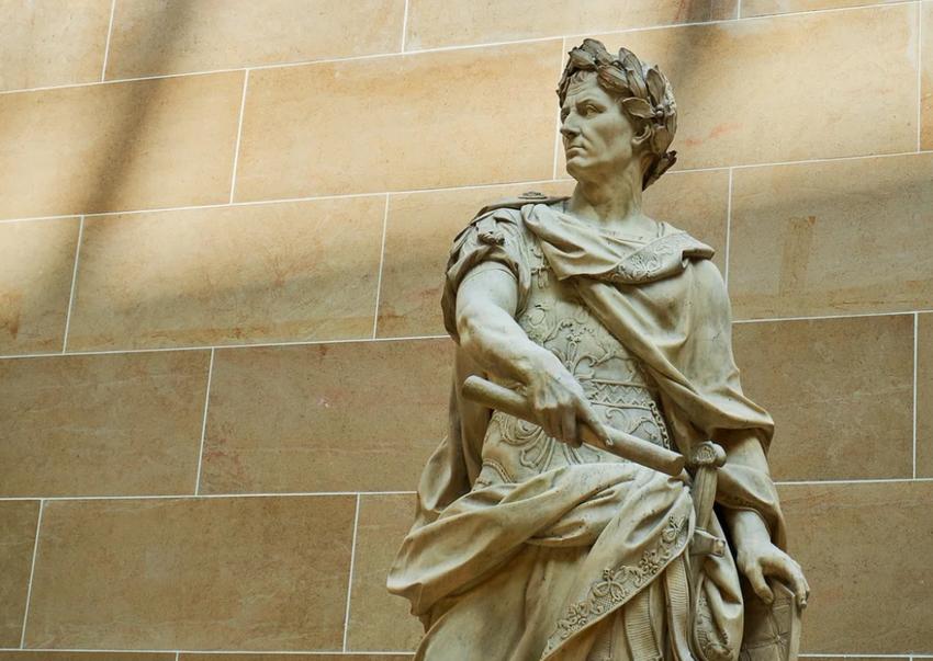 Гай Юлий Цезарь-полководец.