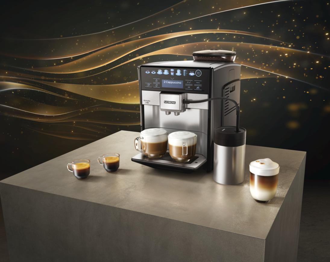 кофемашина интерьере