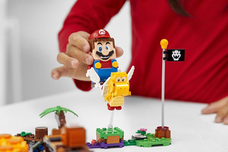 Конструктор LEGO Super Mario Ядовитое болото дополнительный уровень