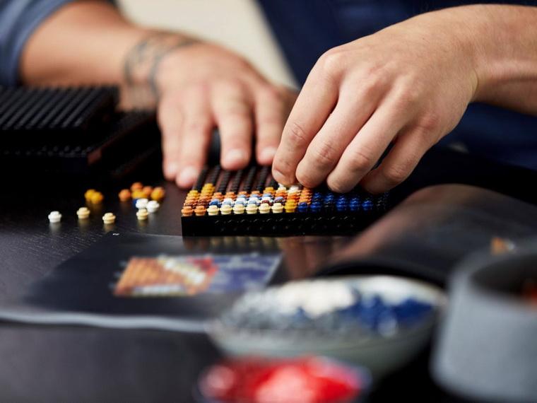 LEGO Art Железный Человек Marvel Studio-фото 10