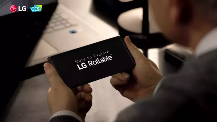 LG Rollable.