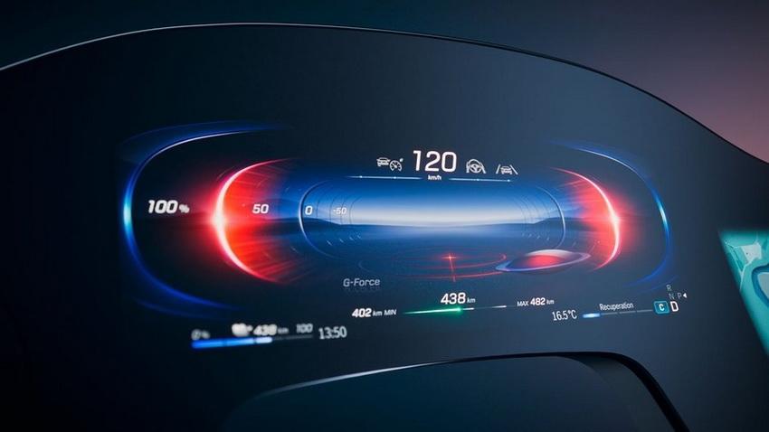 Mercedes-Benz-гиперэкран фото 2