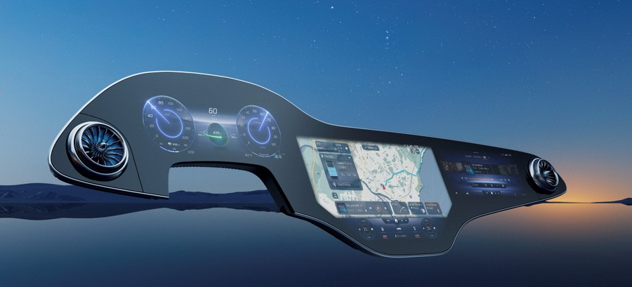 Benz-гиперэкран инновации