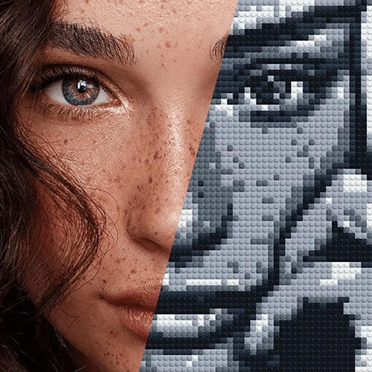 Мозаика и фото