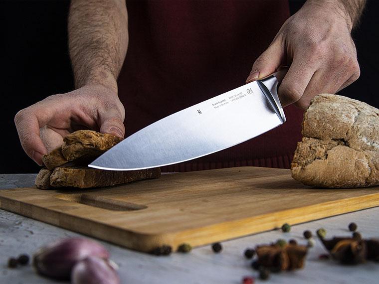 Нож повара WMF 1880396032 GRAND GOURMET использование