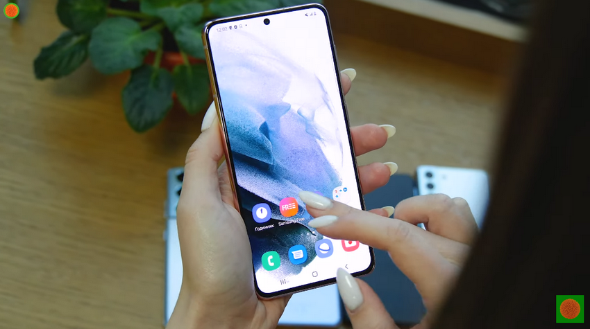 Samsung Galaxy S21-оболочка особенности