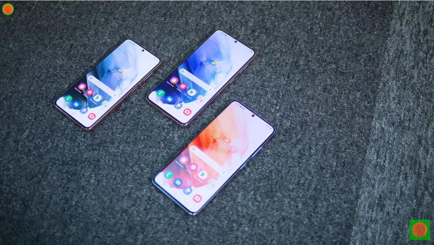 Samsung Galaxy S21-три новых флагмана