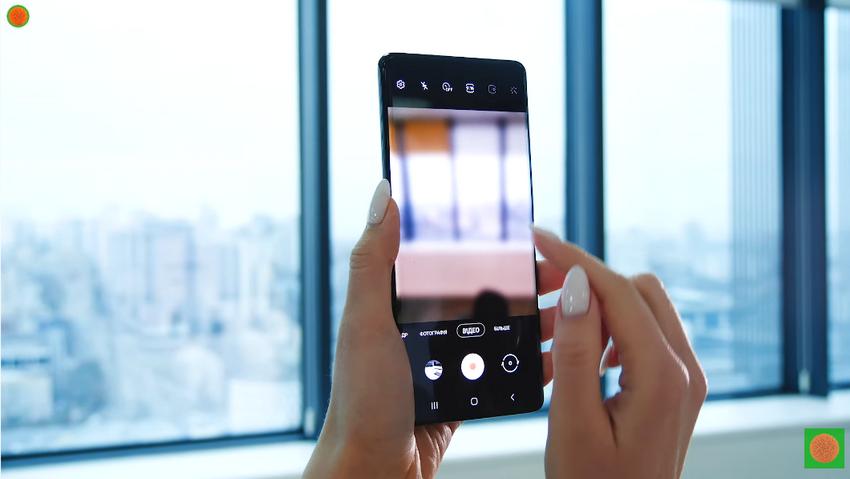 Samsung Galaxy S21 ультра-съемка видео