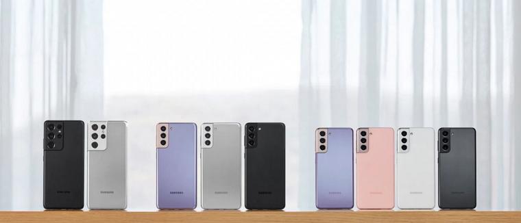 Samsung Galaxy S21,S21 plus и S21 Ultra-новинки