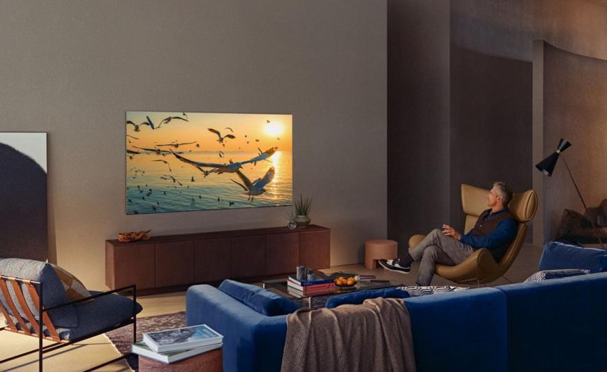 Samsung Neo QLED-в интерьере