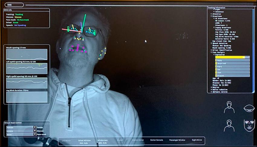 Smart Eye-система слежения за состоянием водителя
