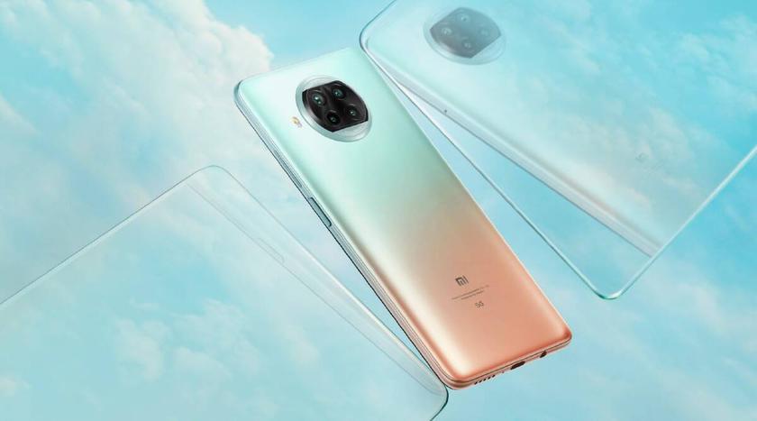 Xiaomi Mi 10i-задняя панель смартфона