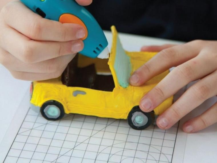 3D-ручка 3Doodler Креатив 48 стержней-автомобиль.