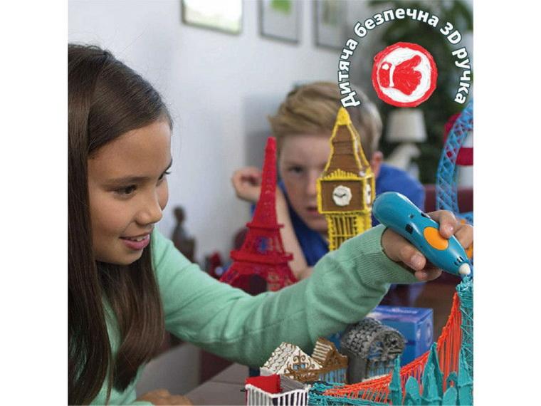 ручка 3Doodler Креатив 48 стержней-безопасность для детей