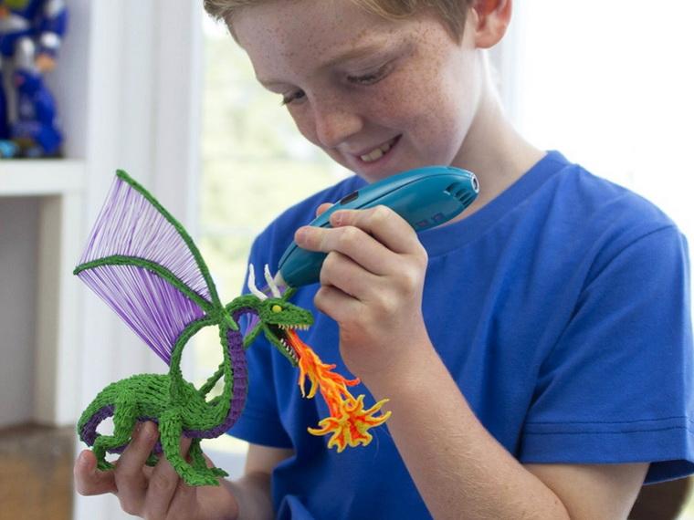 ручка 3Doodler Креатив 48 стержней-дракон.