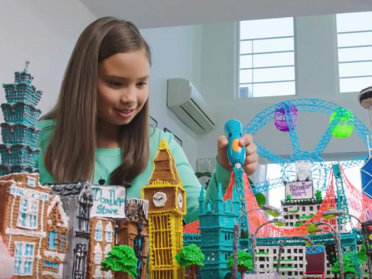3D-ручка 3Doodler Креатив-город.