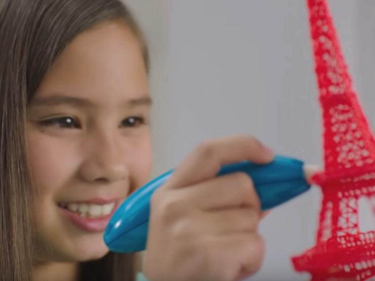 3D-ручка-3Doodler Креатив-скульптуры