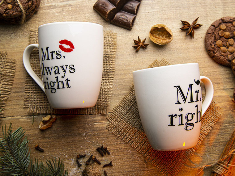Чашка Keramia Mr. right